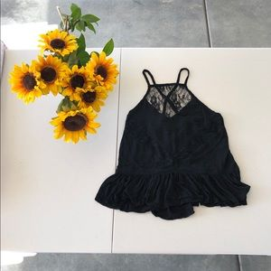 Hollister lace top
